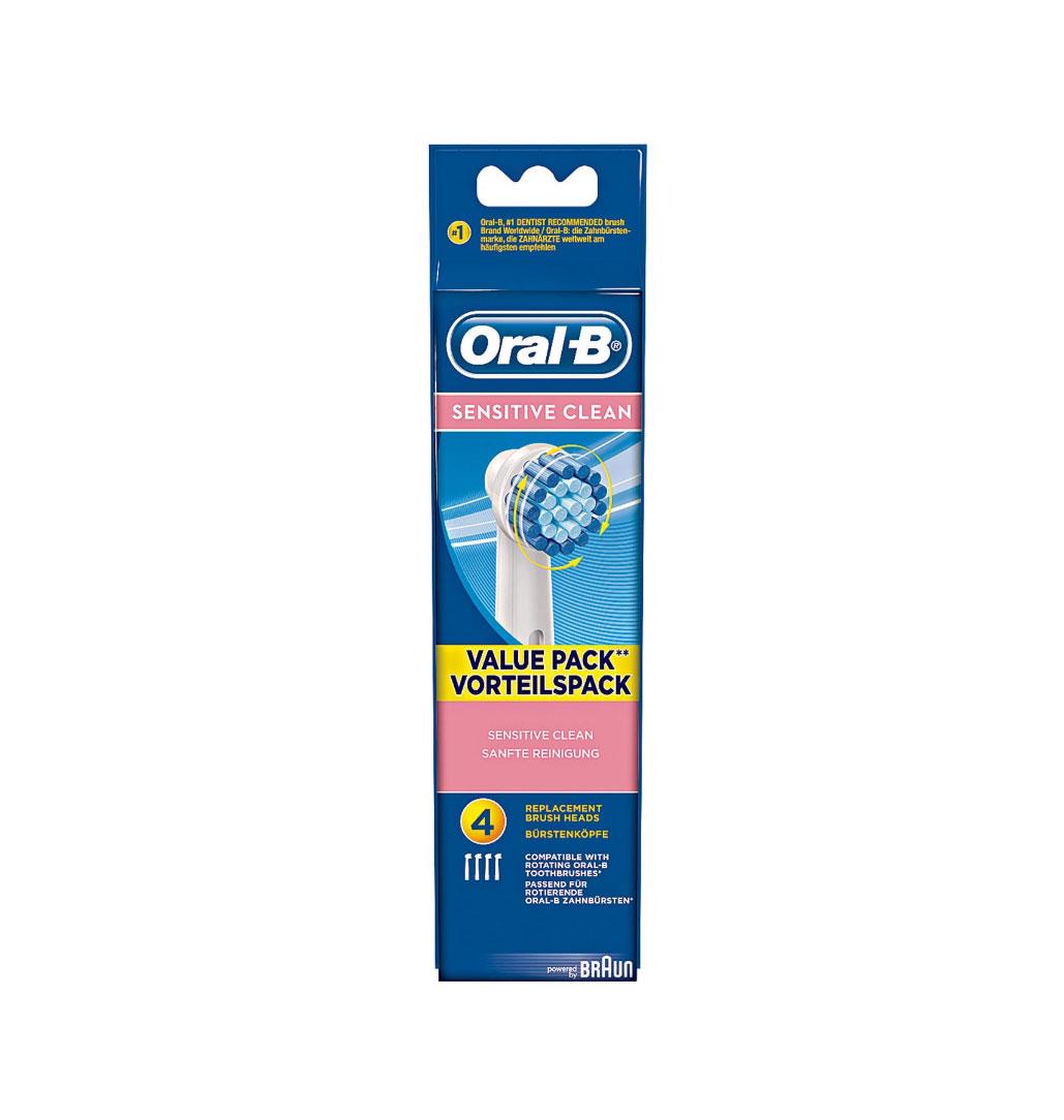 4 chiếc Đầu bàn chải máy Braun Oral B Precision Clean